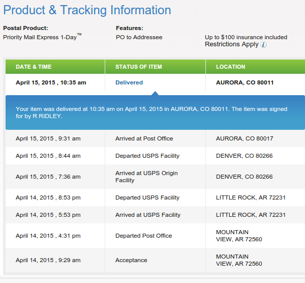 Arkansas post office tracking - Post office tracking mail ...